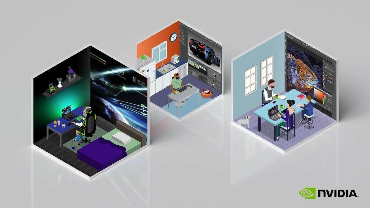 照片中提到了NVIDIA.,跟英偉達有關,包含了英偉達、平面設計、牌、產品設計、多媒體