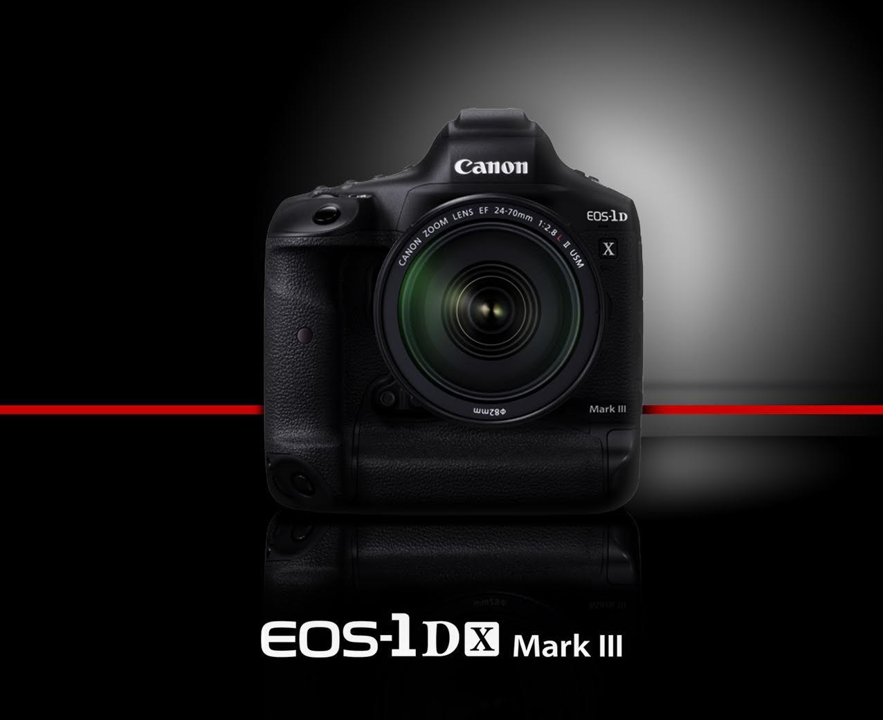 照片中提到了Canon、EOS-lD、Mark III,跟佳能EOS 5D有關,包含了鏡頭、數碼單反、佳能EOS-1D X Mark II、鏡頭、相機
