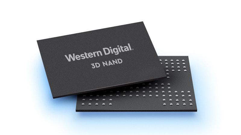 照片中提到了Western Digital.、3D NAND,跟西部數據有關,包含了電子配件、電子配件、產品設計、產品、牌