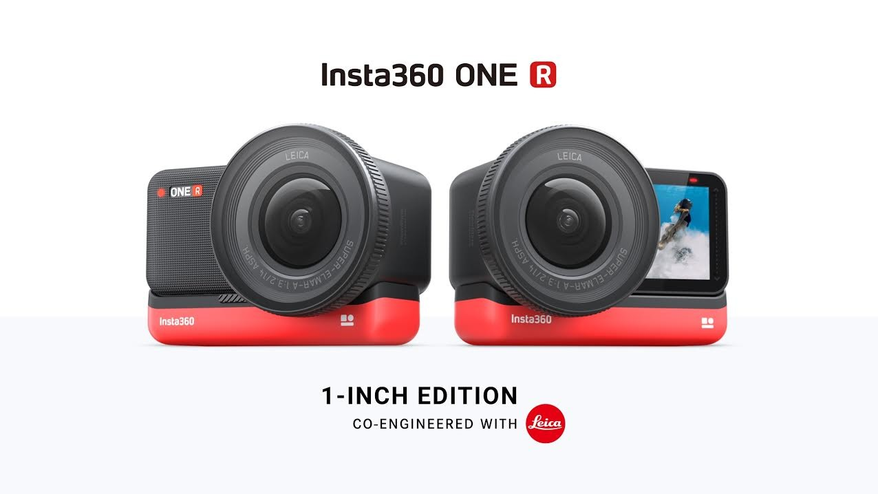 照片中提到了Insta360 ONE R、LEICA、LEICA,跟徠卡相機有關,包含了車載低音炮、鏡頭、Insta360、動作相機、相機