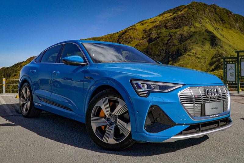 驗證 e-tron 實力,台灣奧迪以 Audi e-tron Sportback 50 quattro 單次充電自台中展間成功登上武嶺