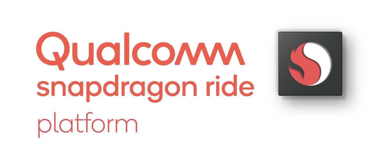 照片中提到了Qualcomm S、snapdragon ride、platform,跟高通公司、高通公司有關,包含了金魚草730、高通金魚草、中央處理器、ROG Phone II
