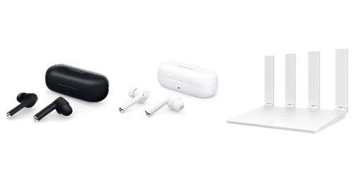 華為推出新降噪耳機  FreeBuds 3i ,與 HUAWEI WiFi WS5200  雙頻路由器