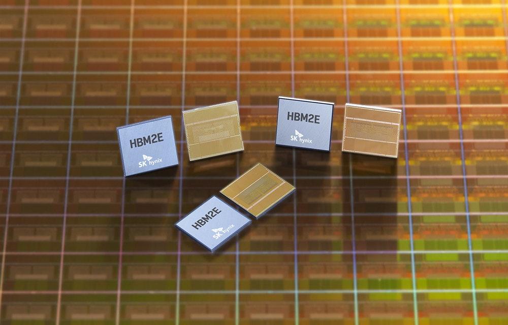 照片中提到了HBM2E、HBM2E、SK hynix,跟SK海力士、哈瓦爾有關,包含了動態隨機存取存儲器、高帶寬內存、固態硬盤