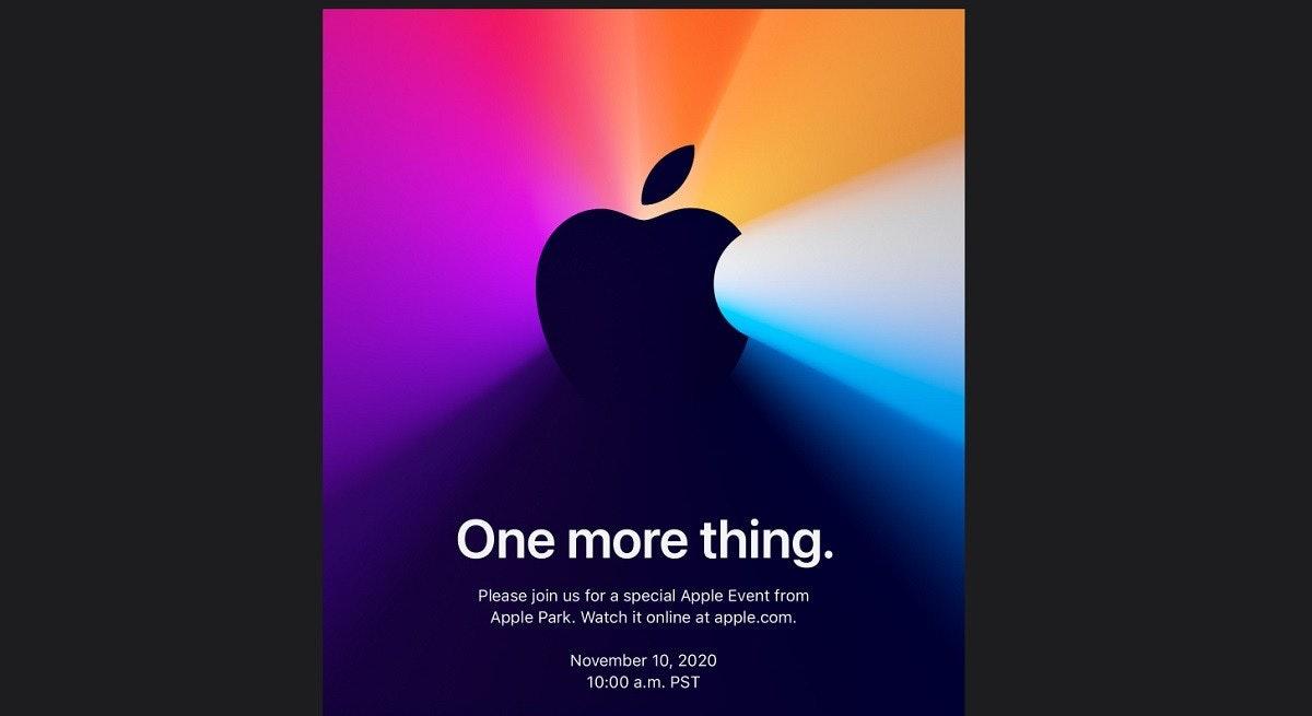 蘋果預告 11 月 10 日還有 One more thing ,預期將是首款 Arm 架構 MacBook 筆電