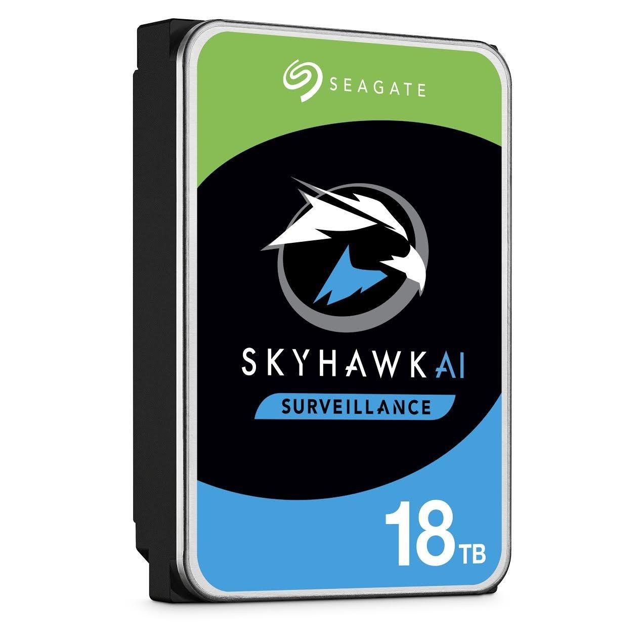 照片中提到了SEAGATE、SKYHAWKAI、SURVEILLANCE,跟希捷科技有關,包含了希捷天鷹1TB、希捷天鷹監控硬盤3.5英寸、硬盤驅動器、2 TB