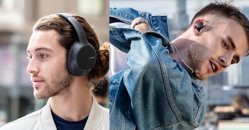 照片中提到了BONY,包含了頭戴式耳機、頭戴式耳機
