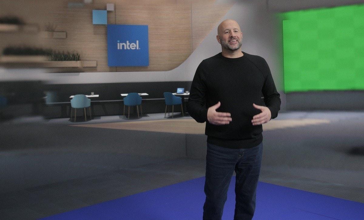 照片中提到了intel.,跟尼特爾有關,包含了英特爾2021、CES 2021、英特爾、電腦、中央處理器