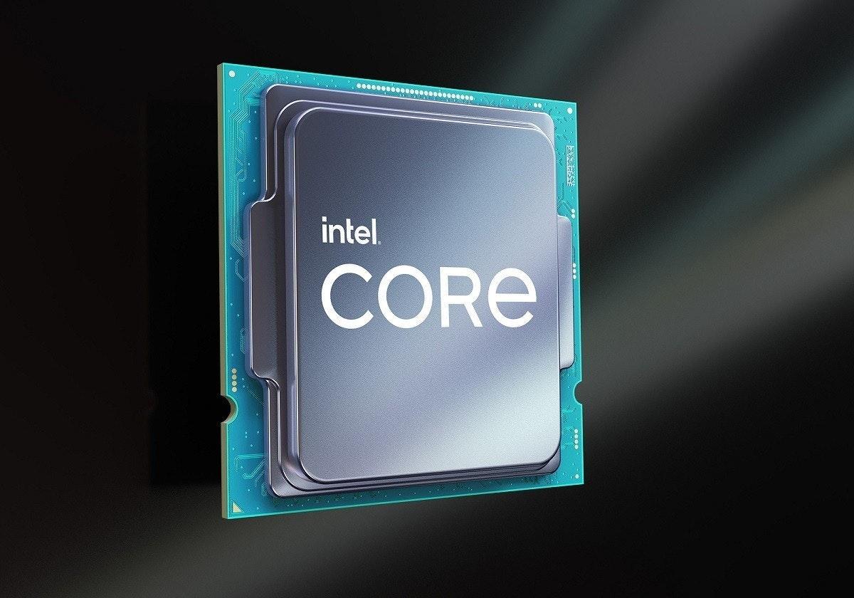 照片中提到了intel.、CORE,跟核心系統有關,包含了i9 11900k、英特爾酷睿i7、火箭湖、中央處理器、英特爾