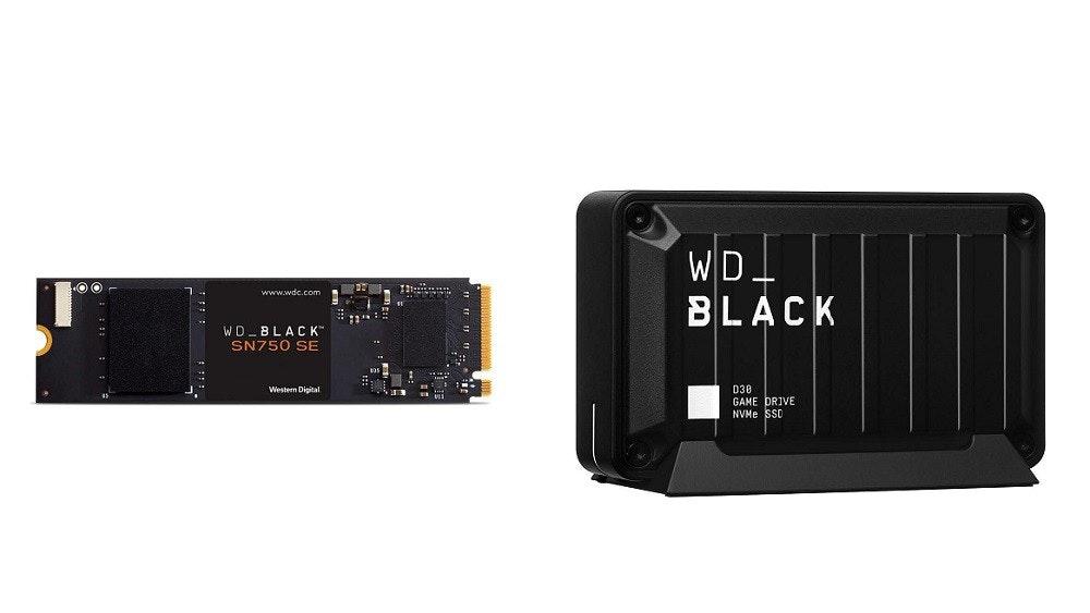 照片中提到了WD.、BLACK、www.wdc.com,跟家樂福、黑卡有關,包含了電子配件、固態硬盤、電子配件、圖片、數據
