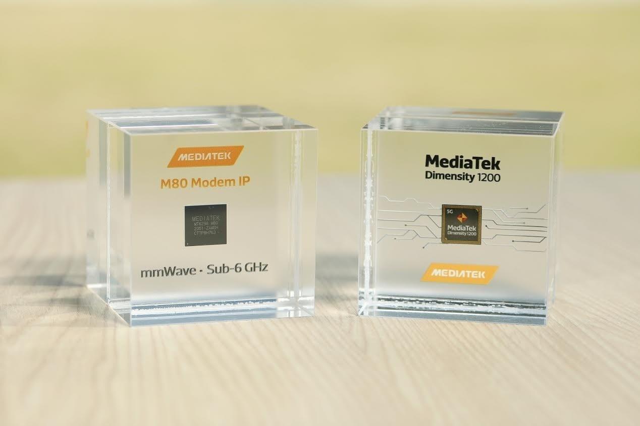 照片中提到了MEDIATEK、MediaTek、Dimensity 1200,跟聯發科、聯發科有關,包含了5 nm製程、聯發科技天璣、半導體器件製造、5G