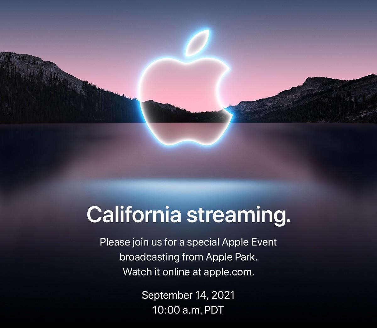 照片中提到了California streaming.、Please join us for a special Apple Event、broadcasting from Apple Park.,跟蘋果公司。有關,包含了優勝美地國家公園、尼雪平校區、優勝美地國家公園、水資源、牆紙