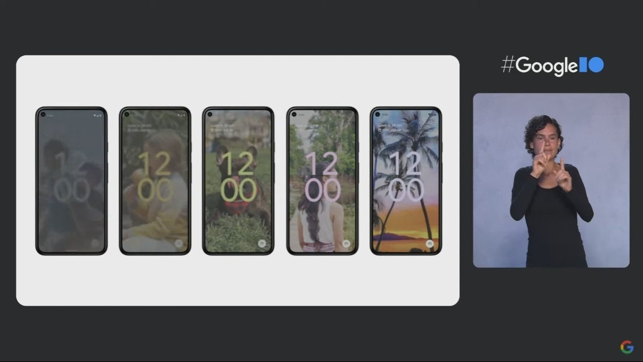 照片中提到了#Googlel0、1 12、12,跟谷歌有關,包含了產品設計、產品、儀表、字形、設計