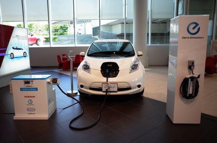 照片中提到了Zero Emission、LEAF 10 Home、NISSAN,跟澳大利亞能源有關,包含了車展、日產葉子、日產、日產汽車有限公司全球總部、汽車