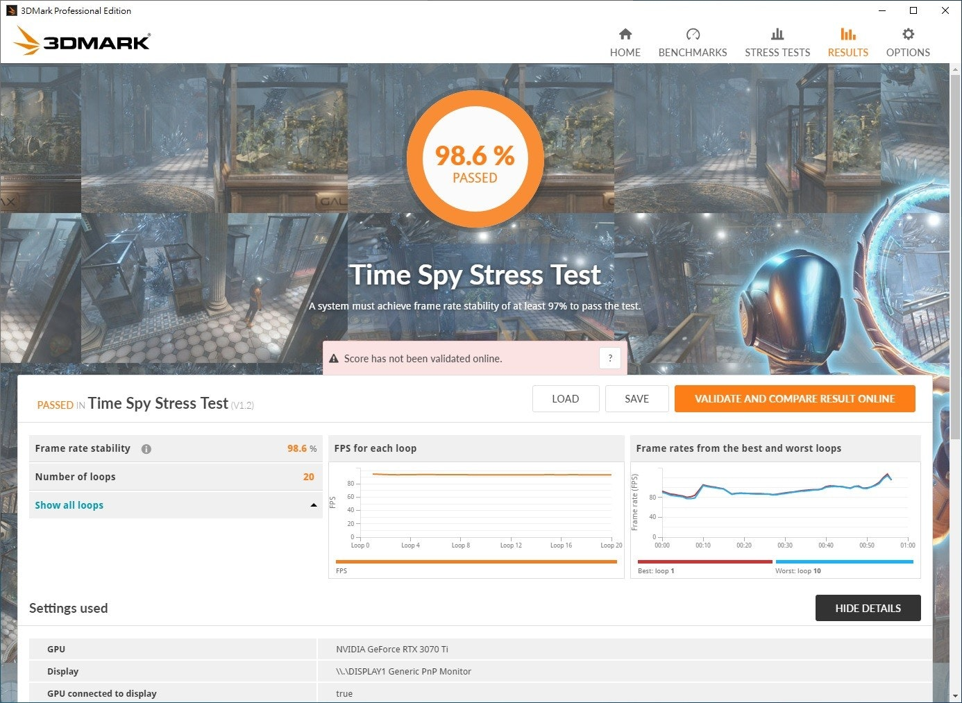 3DMark Professional Edition, 3DMARK, НОМЕ are mentioned in the photo, including gtx 1070 spy score, NVIDIA GeForce GTX, MSI GeForce GTX 1070 Gaming Z 8g, 8GB GDDR5, MSI International, 3DMark