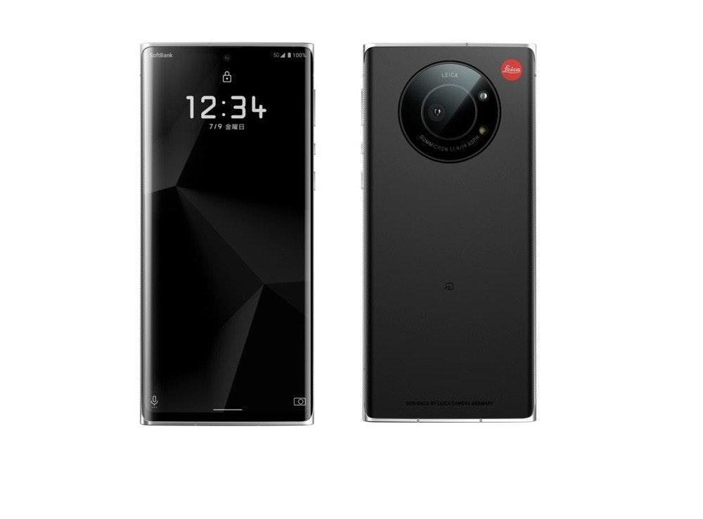 照片中提到了SGA 100、Lica、SoftBank,包含了功能手機、ROG Phone II、ROG電話3、電話、功能手機