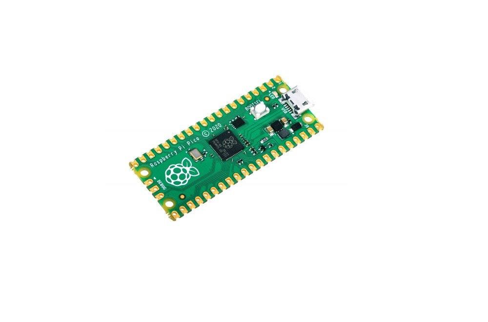 照片中提到了Raspberry Pi Pico © 2020....、- DEBUG,跟立體週期有關,包含了微控制器、iPhone 4S、藍牙、硬件程序員、電池