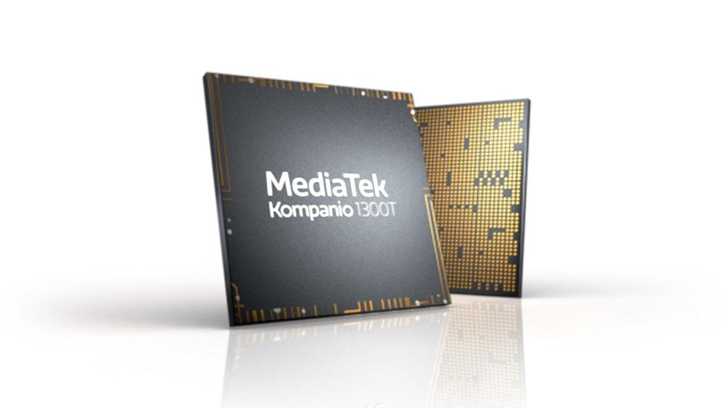 照片中提到了MediaTek、Kompanio 1300T,跟聯發科有關,包含了聯發科Helio G90T、聯發科Helio G90T、中央處理器、芯片組