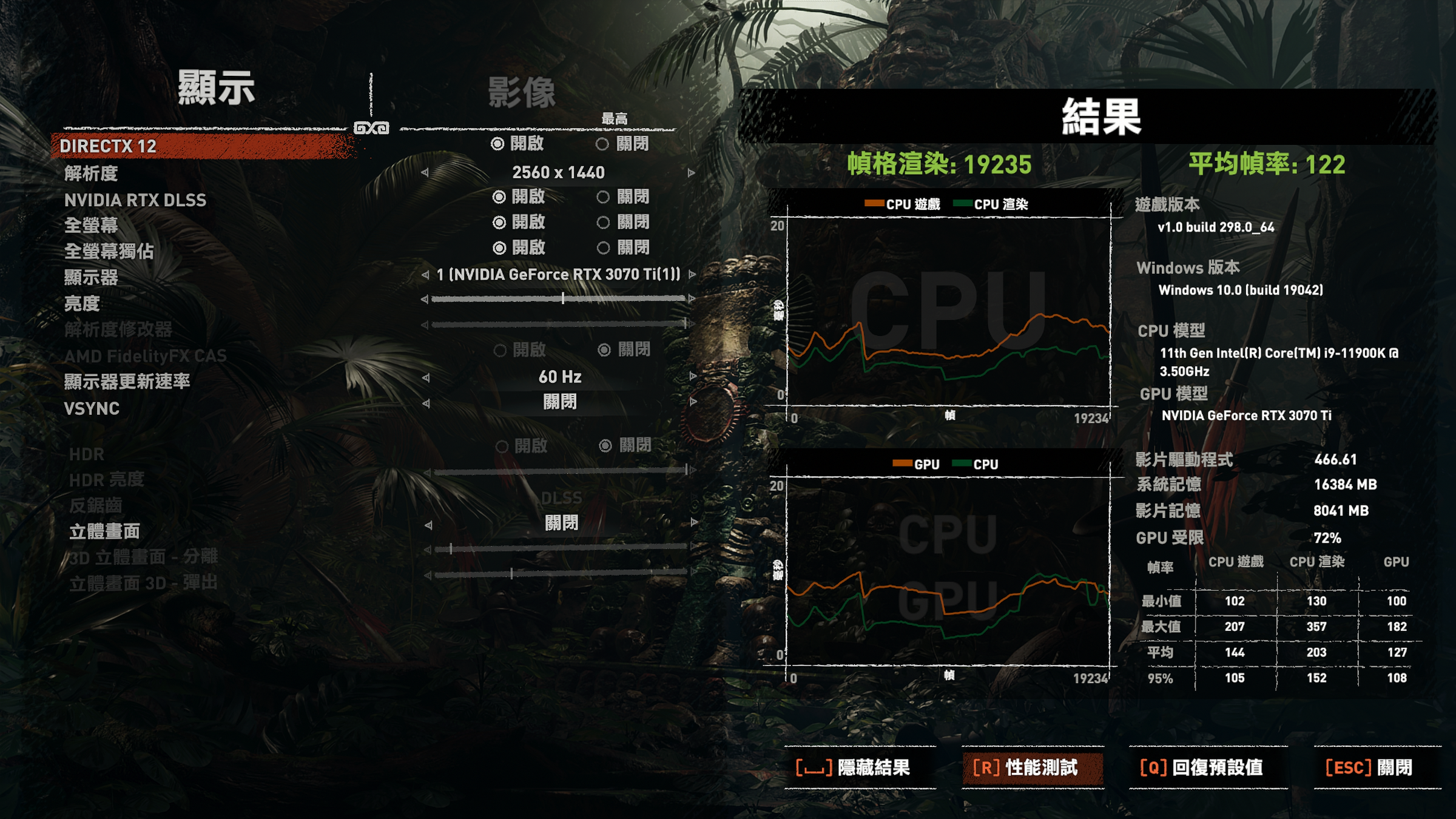 The photos mentioned display, images, results, including graphics cards, central processing units, computers, NVIDIA GeForce RTX, Intel