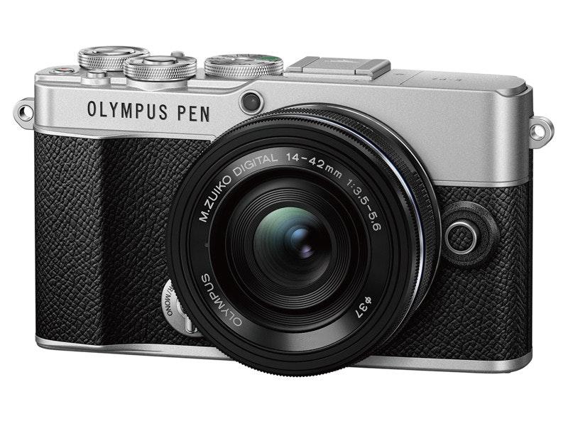 照片中提到了OLYMPUS PEN、14-42mm、DIGITAL,包含了奧林巴斯pen7、奧林巴斯PEN E-PL7、奧林巴斯M.Zuiko Digital ED 8毫米f / 1.8 Fisheye Pro、奧林巴斯筆 E-PL8、微型四分之三系統