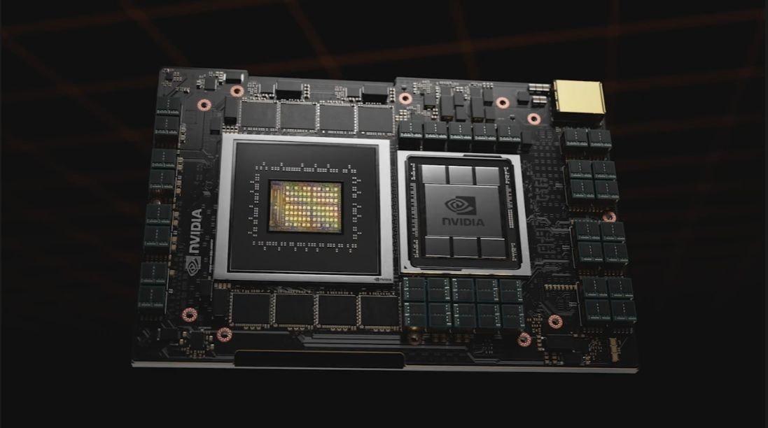 照片中提到了NVIDIA、... EN,跟英偉達有關,包含了電子產品、電腦硬件、電子產品、母板、電子零件