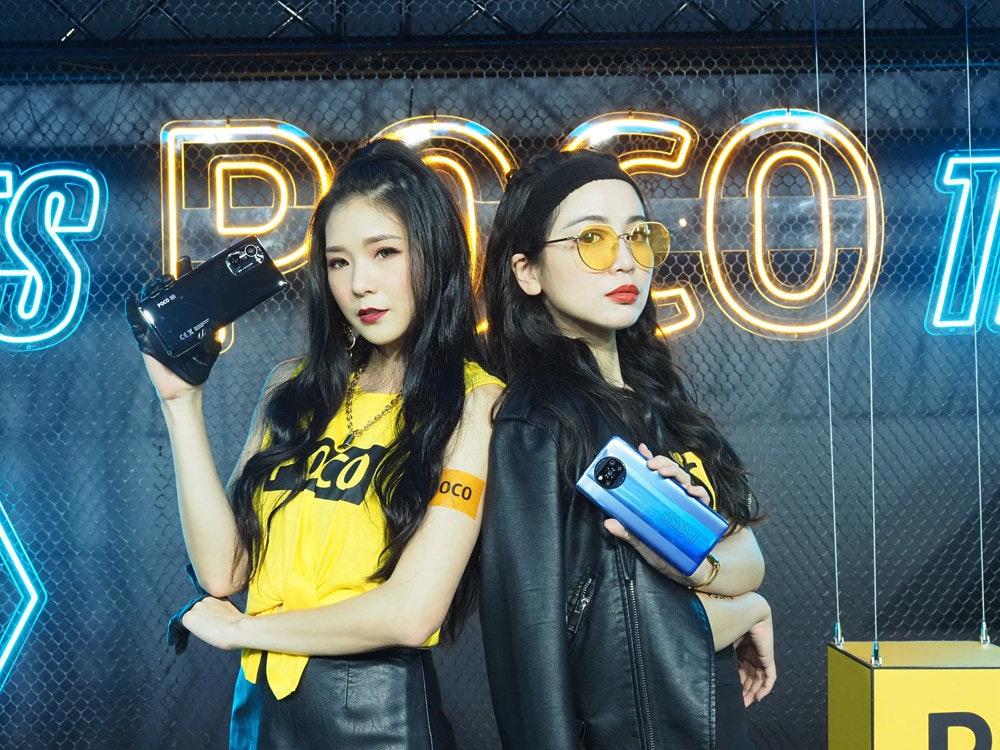 照片中提到了Oco,跟突破性娛樂有關,包含了女孩、產品
