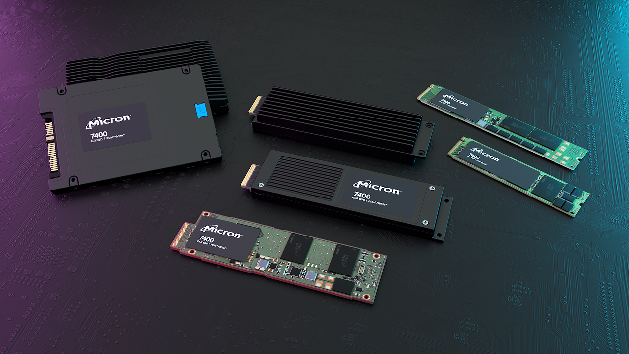 照片中提到了icron、7400、icron,跟美光科技、美光科技有關,包含了固態硬盤、電腦硬件、固態硬盤、電腦數據存儲、NVM Express