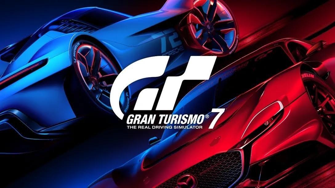 照片中提到了HELIN、GRAN TURISMO、THE REAL DRIVING SIMULATOR,包含了格蘭旅遊7、格蘭旅遊7、Gran Turismo Sport、超級跑車、PlayStation VR