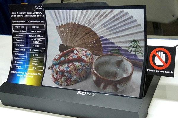 是SID 2011:SONY展示可彎曲電子紙以及裸視3D LCD這篇文章的首圖