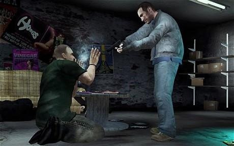 是英國「每日電訊報」:暴力遊戲減低犯罪這篇文章的首圖