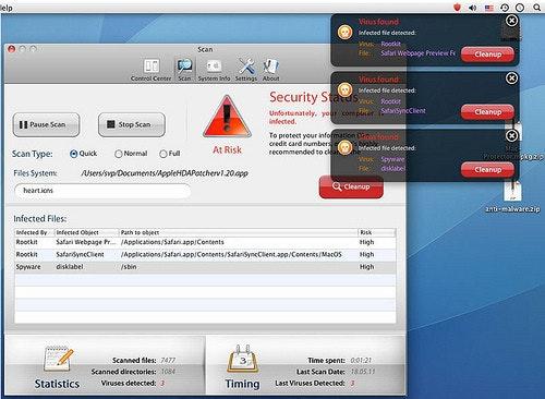 是原來MAC OS上也流行假防毒這篇文章的首圖