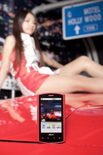 奔紅的尊爵、沉著的高調 - Acer Liquid E Ferrari Editon智慧型手機