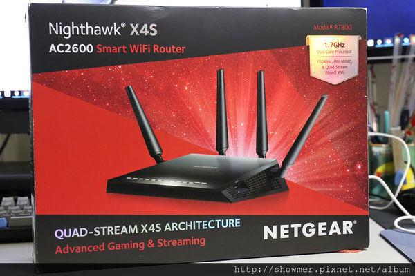 是跨樓層高手 NETGEAR NIGHTHAWK X4S 開箱分享這篇文章的首圖
