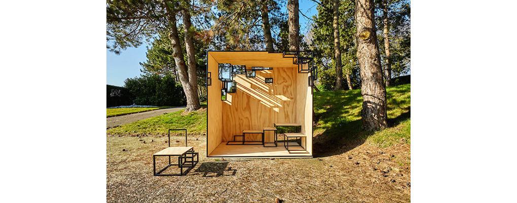 是沒有方形可不行!Filip Janssens 的戶外家具設計這篇文章的首圖