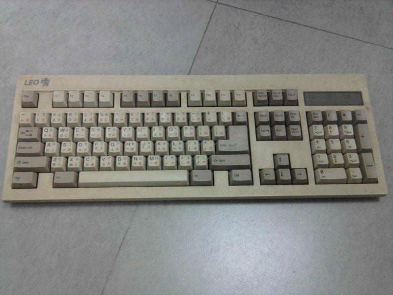 是一把LEO的老鍵盤要維修的話...?這篇文章的首圖