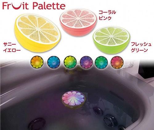 是[好物] 療癒系泡澡玩具:水上飄水果燈這篇文章的首圖