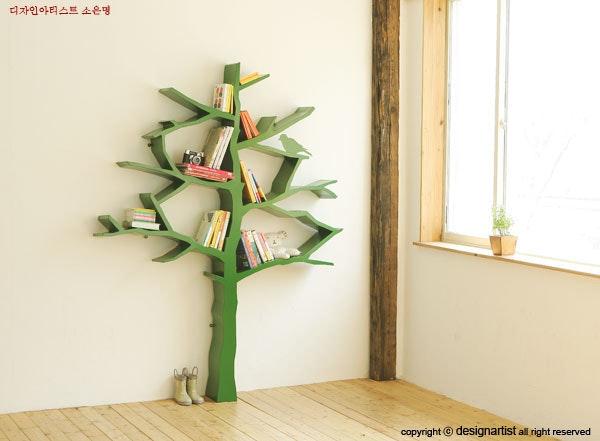 是「樹」中自有黃金屋-漂亮的樹形書架這篇文章的首圖