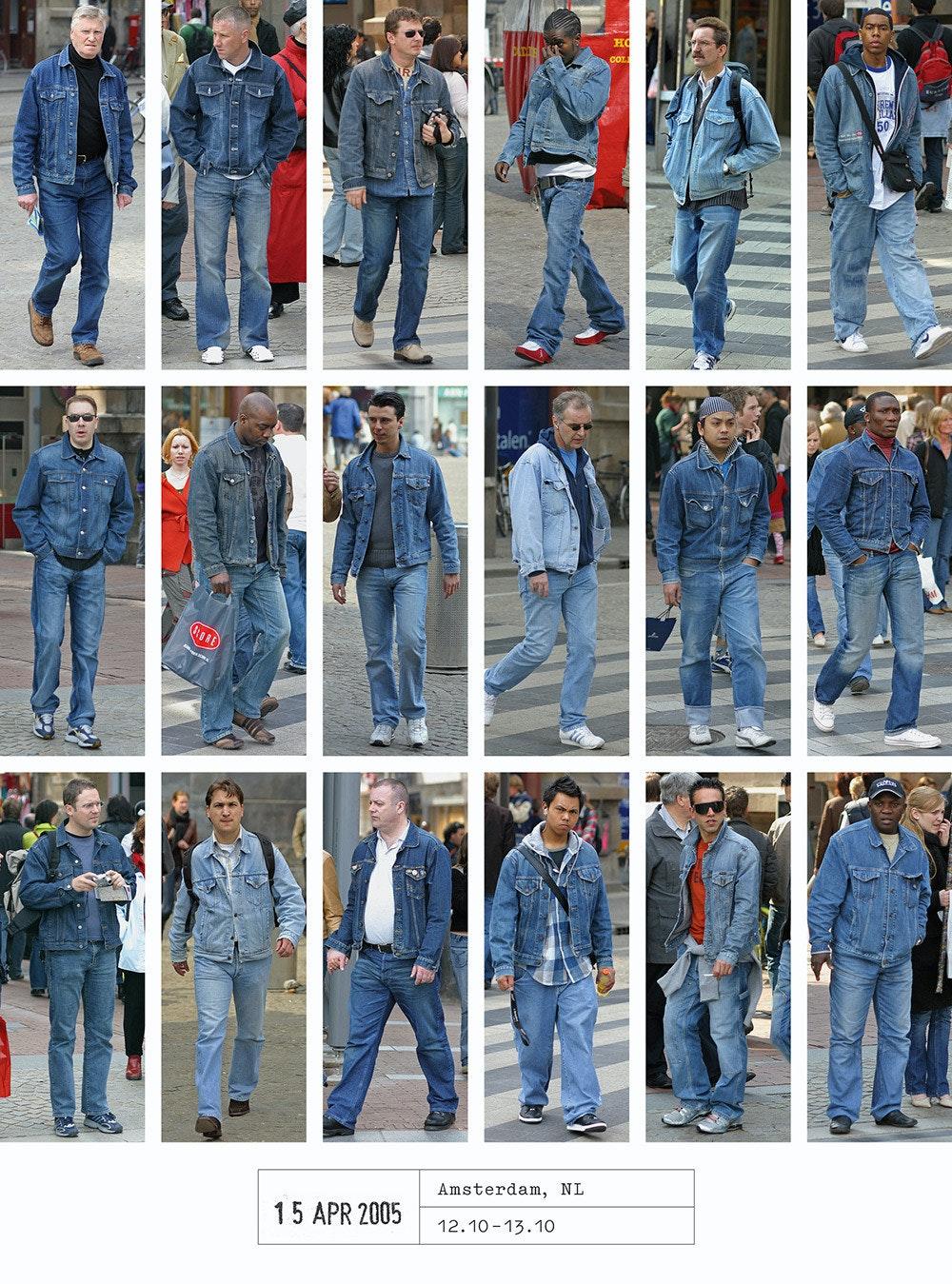 是花費 20 年才完成的街頭服飾攝影集,沒想到流行的都一樣這篇文章的首圖