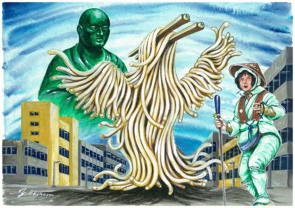 """是日本香川縣加入 """"烏龍麵怪物"""" 吉祥物!日本 47 縣市都有代表的地區怪物這篇文章的首圖"""