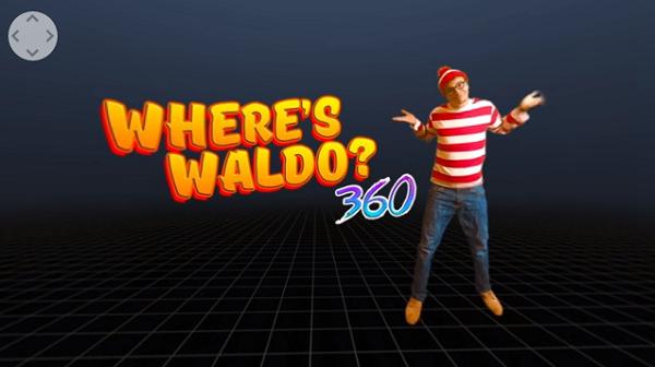 """是Where's Waldo? """"威利在哪裡?"""" 360 度環繞版更逼人這篇文章的首圖"""