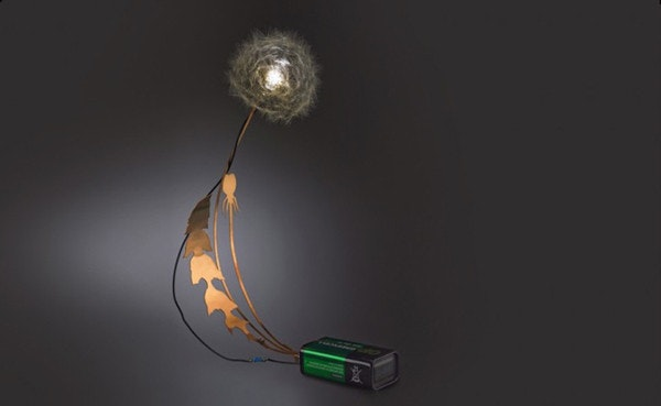 是一顆電池一朵蒲公英,打造細膩的自然光源這篇文章的首圖