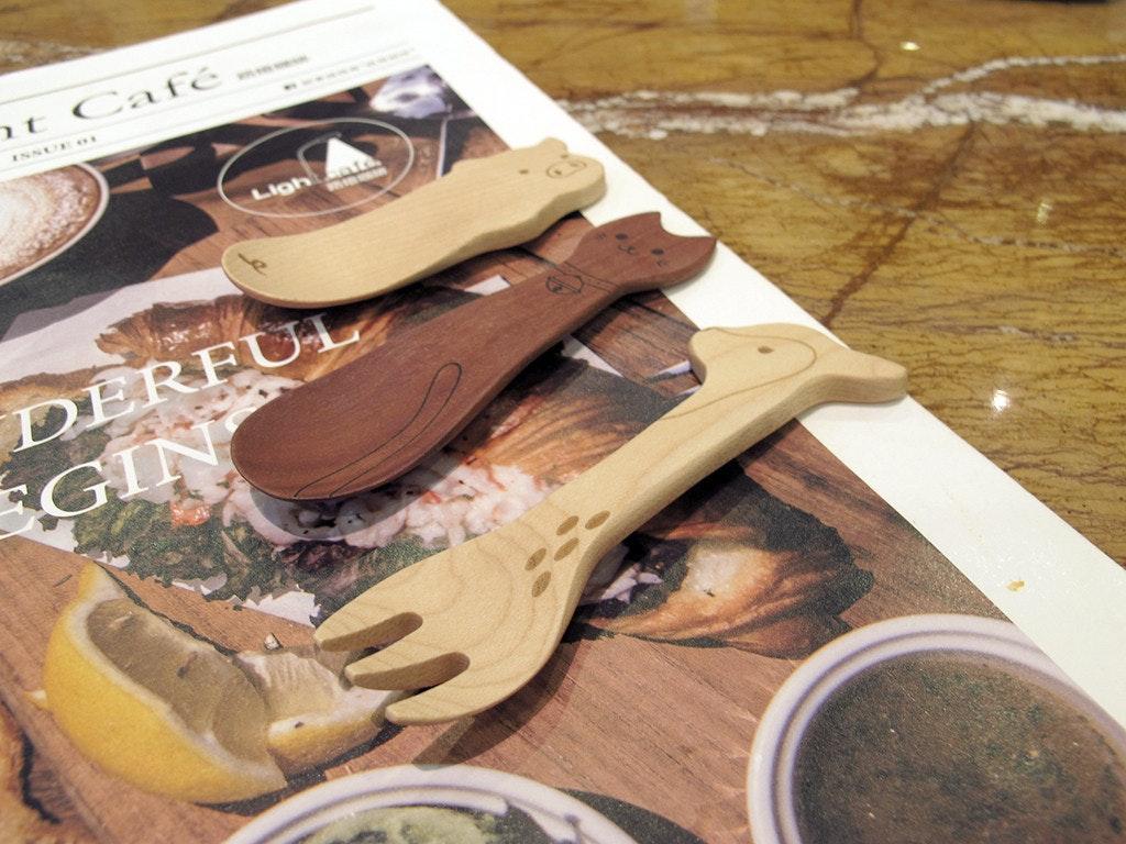 是可愛比較重要!全部都想要的日本木製湯匙這篇文章的首圖