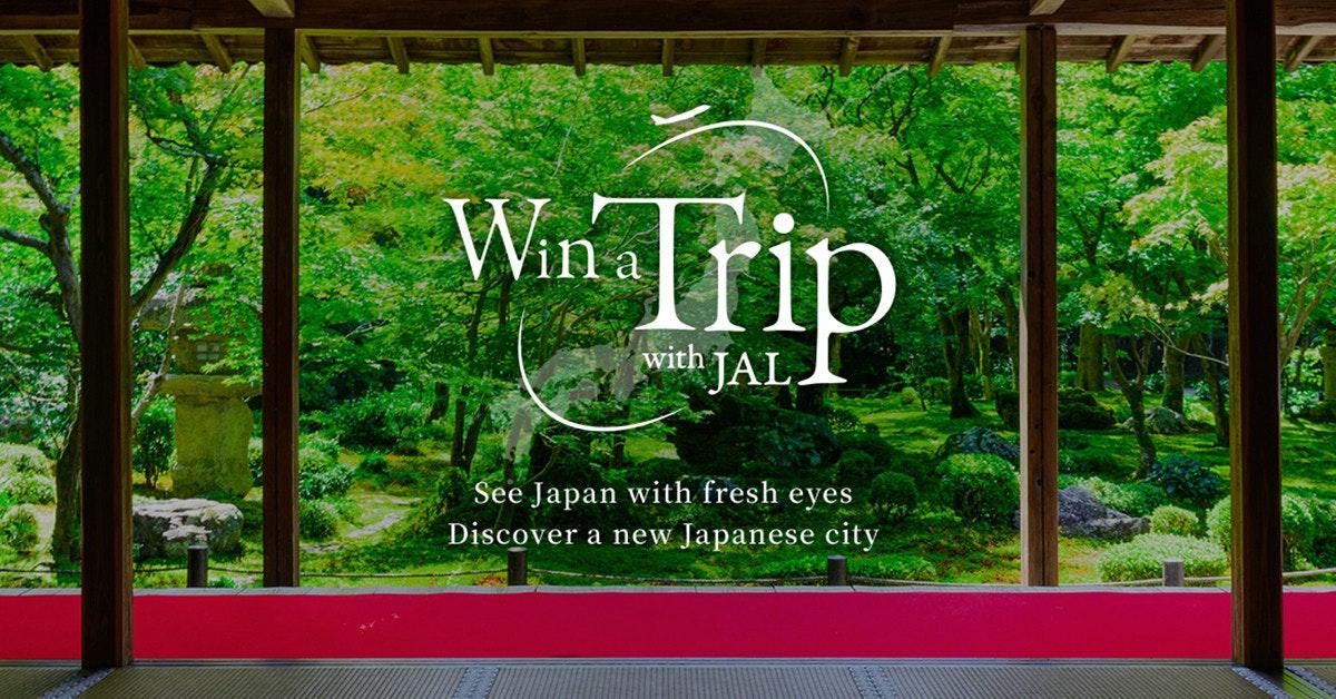 照片中提到了Win Irip、with、JAL.,跟維特博物館有關,包含了日本航空、成田國際機場、日本航空、旅行、大阪國際機場