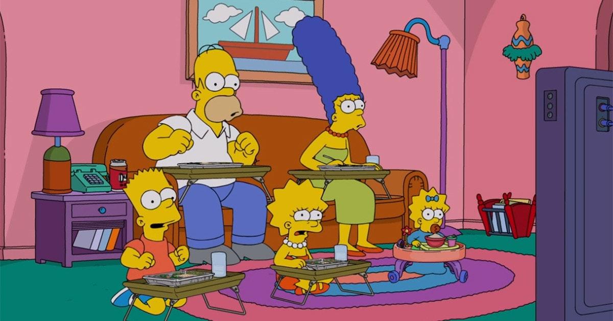照片中包含了辛普森一家美國電視、巴特·辛普森、電視、迪士尼+、黃金時間