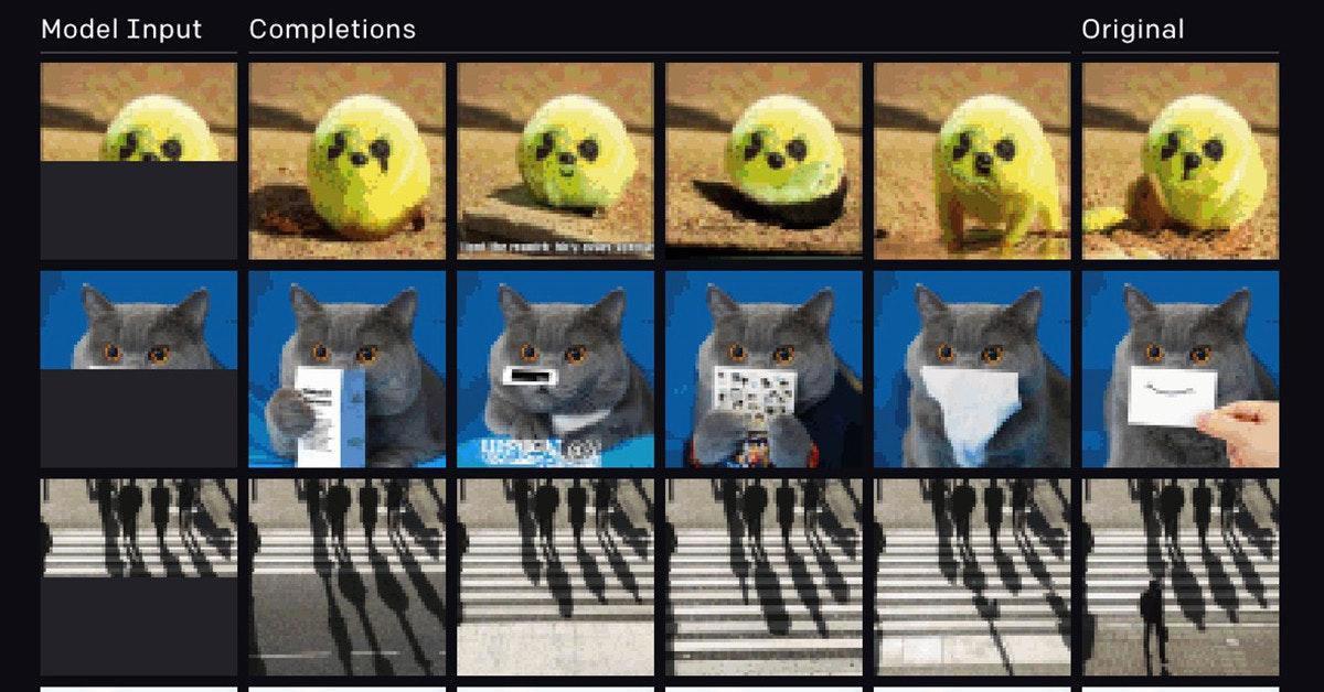 照片中提到了Model Input、Completions、Original,包含了人工智能、開放AI、人工智能、情報、人工智能