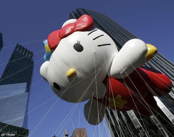 是[大驚] Hello Kitty要去跟外星人打招呼了?!這篇文章的首圖