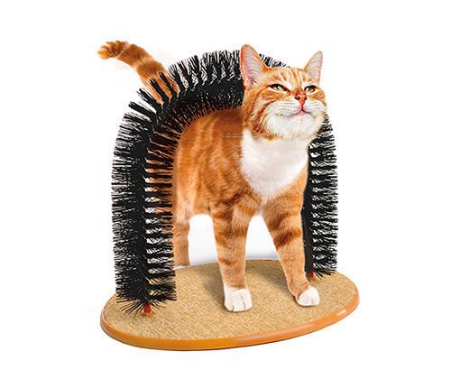 是PurrfectARCH 拱門型貓咪蹭毛器,貓咪表示:呼嚕嚕嚕嚕這篇文章的首圖