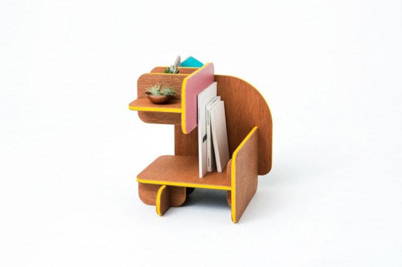是骰子家具,翻轉每一面來決定你的使用方式!這篇文章的首圖