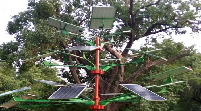 India, Tree, Solar power, Solar energy, Solar tree, , Electricity generation, Government of India, Solar power in India, Green energy, solar tree in india, tree, plant, recreation, pole, park