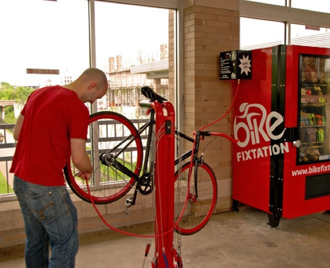 是雙輪維修機(Fixtation):現在連自動販賣機都可以修腳踏車了,捷安特你不跟進嗎?這篇文章的首圖